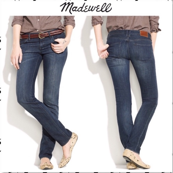 top quality low cost size 7 Madewell Jeans | Rail Straight In Western Wash | Poshmark
